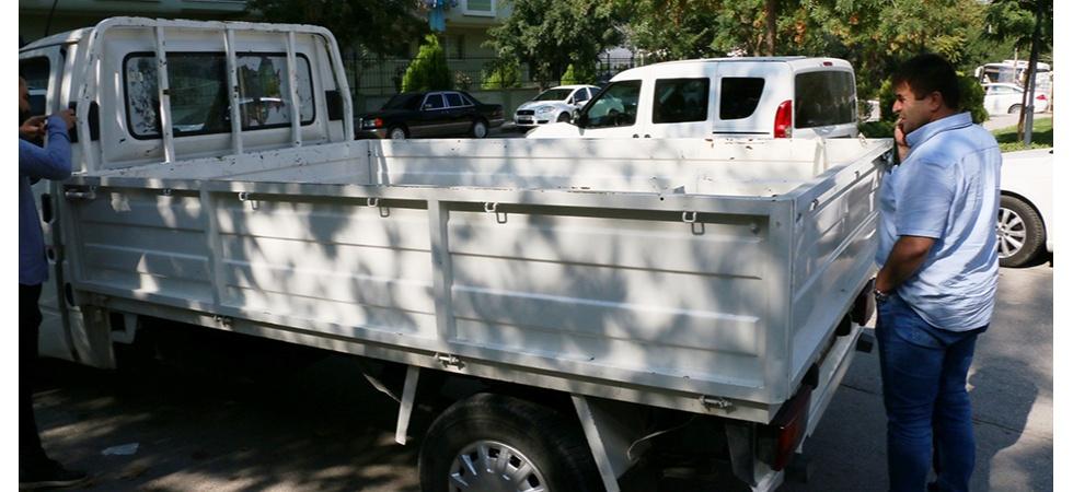 Çaldığı kamyoneti iki saat sonra geri getirdi
