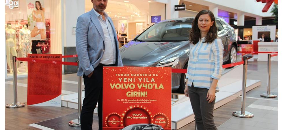 Forum Magnesia yeni yılda araba sahibi yapacak
