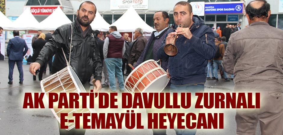 AK Parti'de davullu zurnalı e-temayül heyecanı