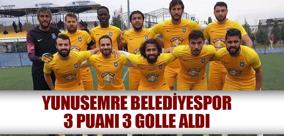Yunusemre Belediyespor 3 puanı 3 golle aldı