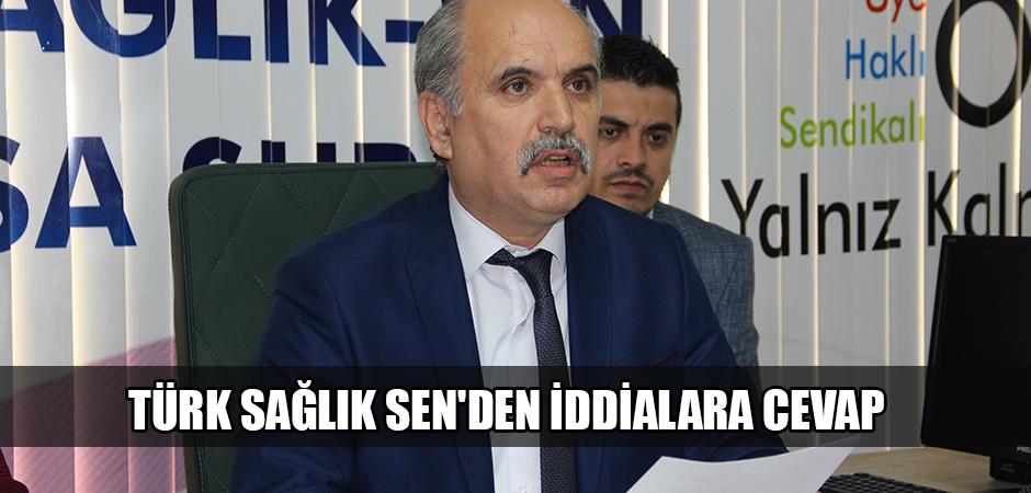 Türk Sağlık Sen'den iddialara cevap