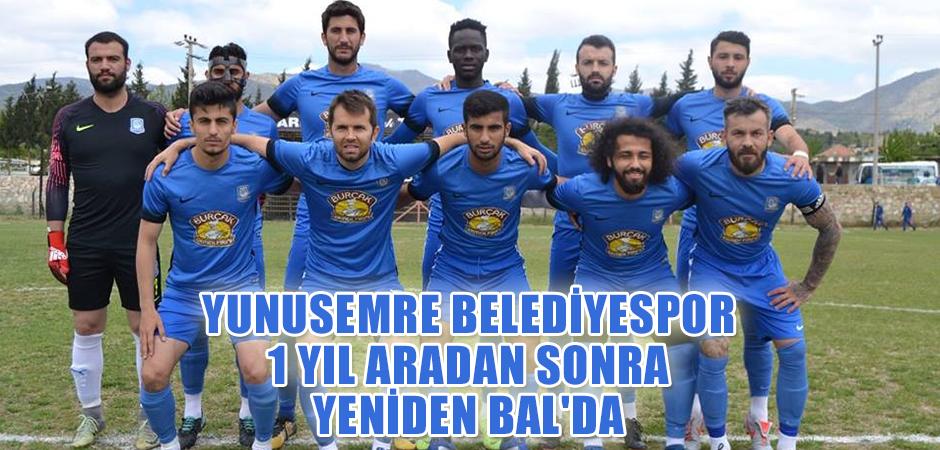 Yunusemre Belediyespor 1 yıl aradan sonra yeniden BAL'da