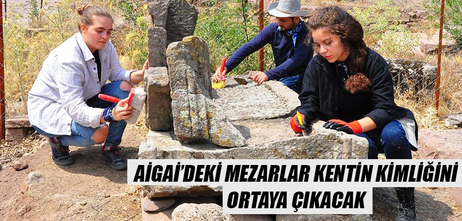Aigai'deki mezarlar kentin kimliğini ortaya çıkacak