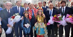 Soma konutlarını Başbakan Yardımcısı Akdağ Teslim Etti