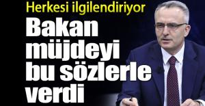 Bakan Naci Ağbal Müjdeyi Verdi