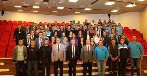 Genç, Sarıgöl ve Alaşehir personeliyle...