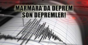 Yalova'daki deprem İstanbul'da da hissedildi Son Depremler!