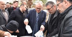 Başkan Ergün'e Muradiye'de yoğun ilgi