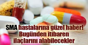 SMA hastalarına güzel haber! Bugünden itibaren ilaçlarını alabilecekler