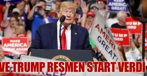 Ve Trump resmen start verdi