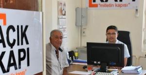 Salihli'de 'Açık kapı' uygulaması