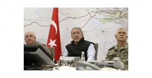 Bakan Akar'dan son dakika Barış Pınarı Harakatı açıklaması