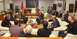 MHP'li Başkan, AK Parti İl Başkanı Hızlı'yı ağırladı