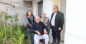 Tekerlekli sandalye ile hayatı değişti