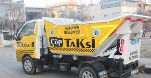 Alaşehir Belediyesi temizlik işçilerinden özenli çalışma