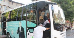 Alaşehir Belediyesinden ücretsiz mezarlık servisi