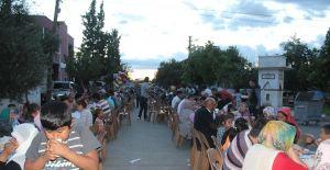 Alaşehir'de 14 mahallede 12 bin vatandaşa iftar