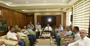 Başkan Çerçi ağaç gerginliğinin ardından mahalle sakinlerini ağırladı