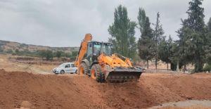 Kula'nın yeni mezarlık alanı gömüye hazır hale getirildi