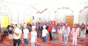 Kur'an kursu öğrencileri eğitimlerinin tamamladı