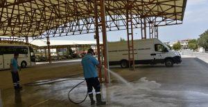 Yunusemre'de bayram temizliği sürüyor