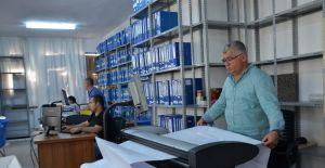 Yunusemre'de milyonlarca evrak dijital ortama aktarılıyor