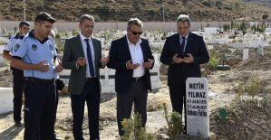 Başkan Çerçi vefat eden zabıta memurunu unutmadı