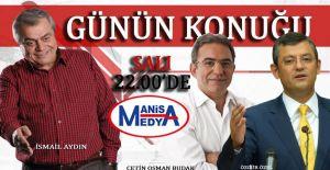'Günün Konuğu' Bu Akşam Özel Konuklarla Manisa Medya TV'de