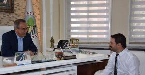 MHP'li Öztürk, Alaşehir'de Başkan Karaçoban'la buluştu