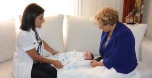 Manisa Büyükşehir yeni doğan bebekleri unutmuyor