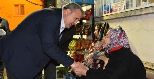 Cumhur İttifakı adayı Çerçi, 4 mahallede vatandaşla buluştu