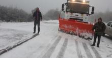Manisa Büyükşehir karla mücadele için teyakkuzda