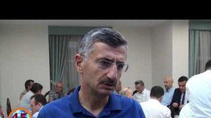 Vali Bektaş Trabzonlu Hemşehrilerine Veda Etti