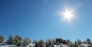 Spil Milli Parkı'ndan kar manzaraları
