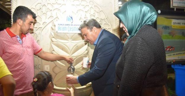 Başkan Çerçi'den Vatandaşa Şerbet İkramı