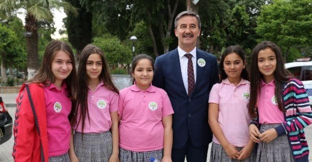 Başkan Şirin Tüm Öğrencileri Kutladı