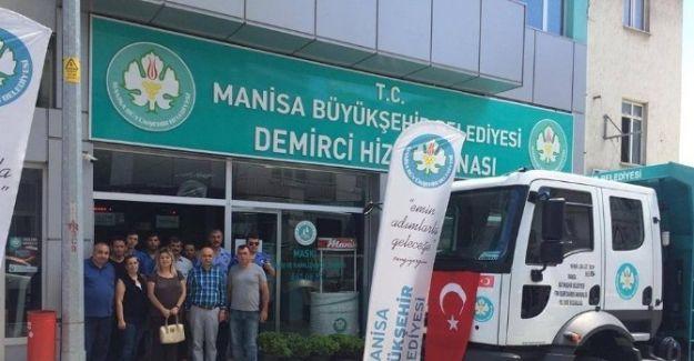 Demirci'nin Sebze Ve Meyve Depoları 1 Temmuz'da Açılıyor