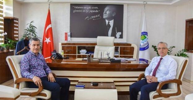 Genel Müdür Oluklu'dan, Başkan Kayda'ya Ziyaret