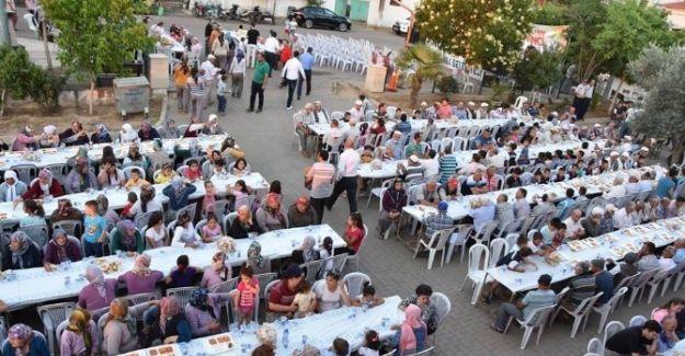 İftar Sofrası Mersinli'de Kuruldu