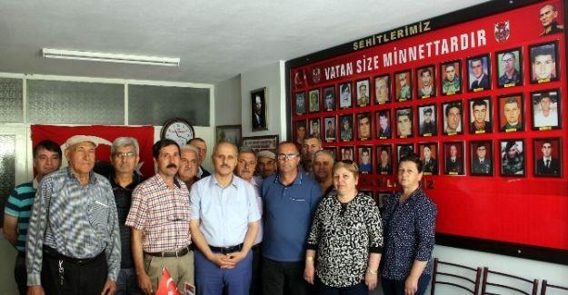 Kaymakam Peynircioğlu'ndan Salihli'de Veda Turu