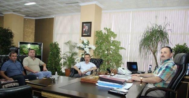 Ordulular Derneği'nden Başkan Ergene'ye Ziyaret