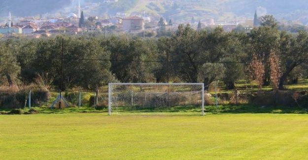 Saruhanlı'nın Futbol Sahaları Yenileniyor