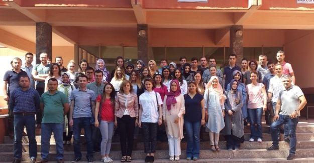 Stajyer Öğretmenlerden Soma Meslek Yüksek Okuluna Ziyaret