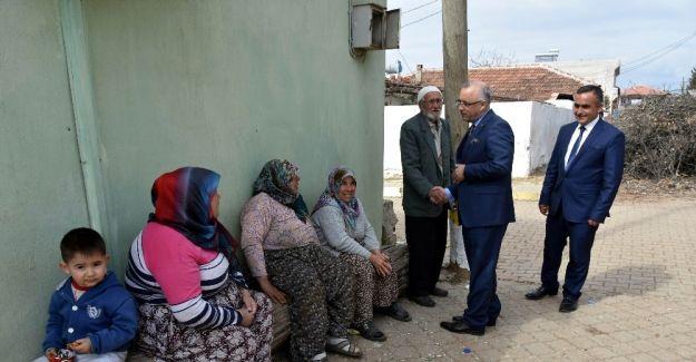 Başkan Kayda, mahalle sakinleriyle buluştu