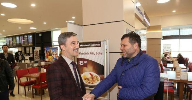 Başkan Şirin Turgutluspor'la kahvaltıda buluştu