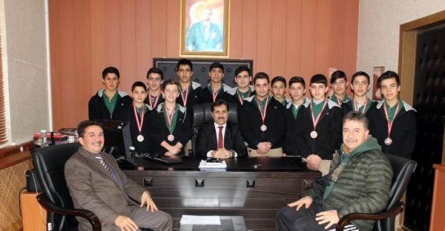 Şampiyon güreşçilerin hedefi Türkiye finali
