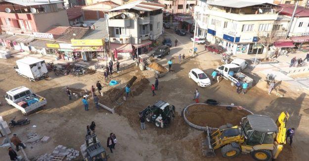 Sarıgöl'e modern kent meydanı