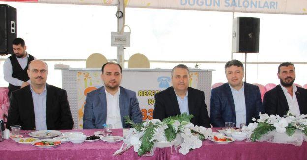 AK Parti'den Makedon göçmenleriyle buluşma