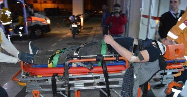 Alkollü sürücü 11 işçiyi canından ediyordu