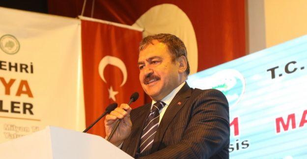 Bakan Eroğlu'ndan CHP'ye kayıklı gönderme